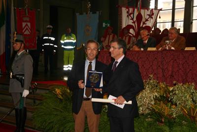 Premiazione Massimo Ceruso